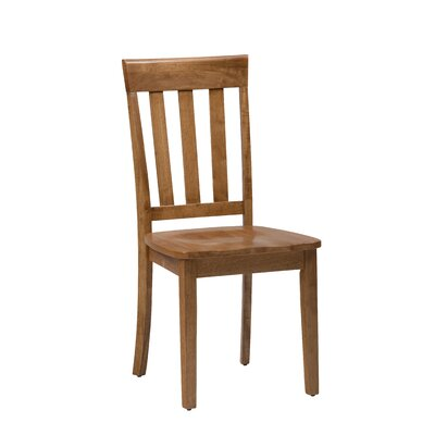 Antrim Solid Wood Dining Chair (Set of 2) Color: Honey