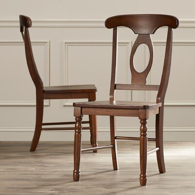 Corell Park Side Chair (Set of 2) Finish: Derby Brown