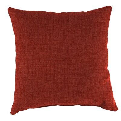 Lakemoore Outdoor Throw Pillow Color: Husk Texture Brick