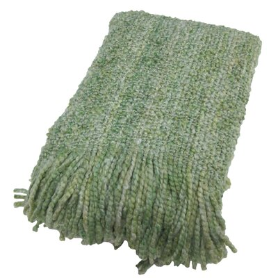 Templepatrick Decorative Throw Blanket Color: Apple - Green