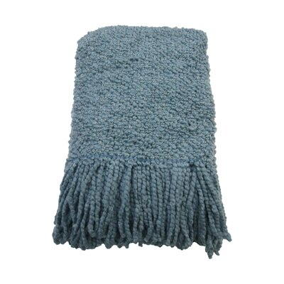 Templepatrick Decorative Throw Blanket Color: Mist