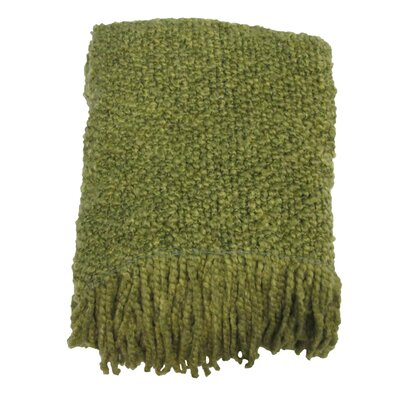 Templepatrick Decorative Throw Blanket Color: Sour Apple