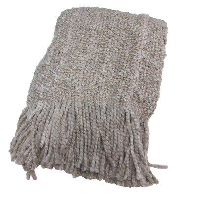 Templepatrick Decorative Throw Blanket Color: Linen