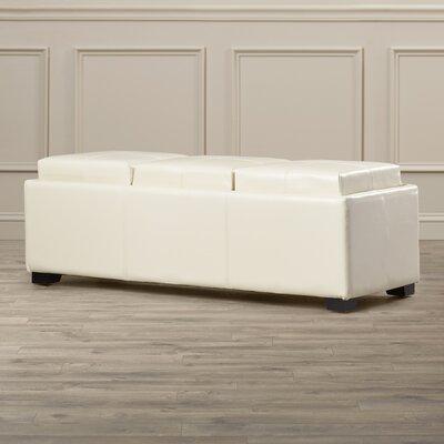 Dogwood Ottoman Upholstery: Flat Cream