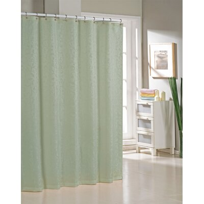 Blarwood Jacquard Shower Curtain Color: Sage