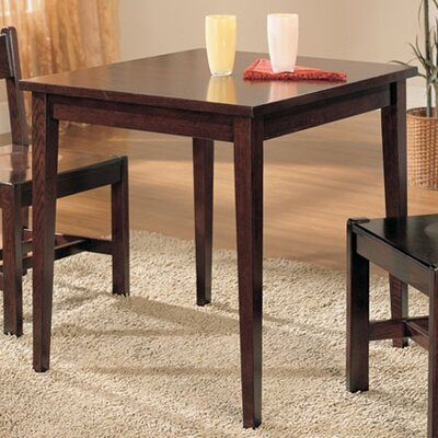 Ameswood Dining Table Color: Mahogany