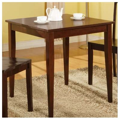 Ameswood Dining Table Color: Glossy Mahogany