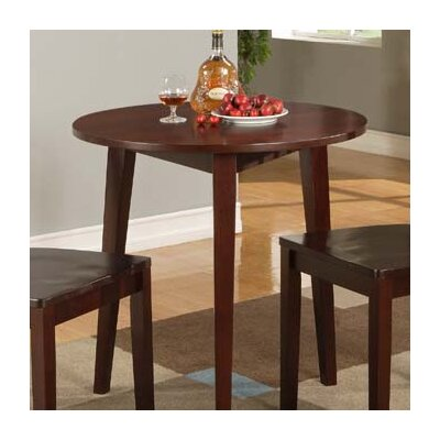 Ameswood Round Dining Table Table Finish: Glossy Mahogany
