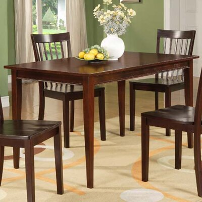 Boulder Creek Wood Dining Table