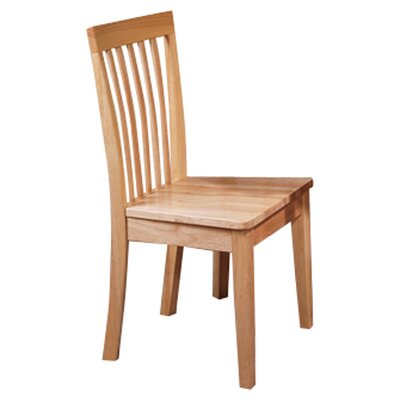 Ameswood Back Side Chair Side Chair Finish: Maple