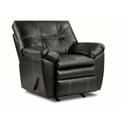 Simmons Upholstery Merriwood Rocker Recliner Upholstery: Onyx