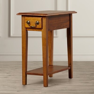 Revere Broomhedge Chairside Table Finish: Medium Oak