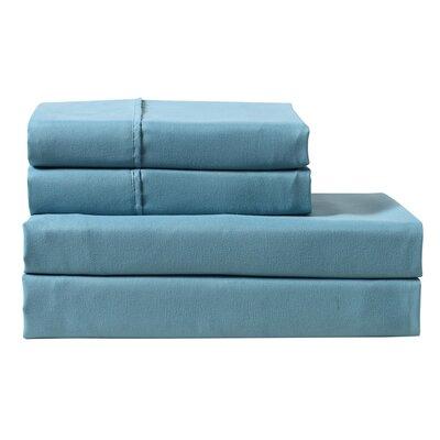 Braesgate 300 Thread Count Pillow Cases Color: Cranberry, Size: Standard