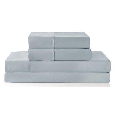 Palladio 300 Thread Count 100% Cotton Sheet Set Color: Gray