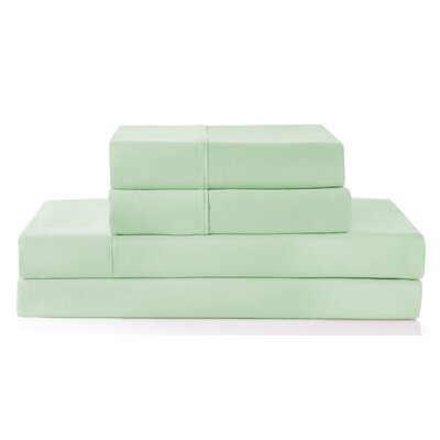 Palladio 300 Thread Count 100% Cotton Sheet Set Color: Sage