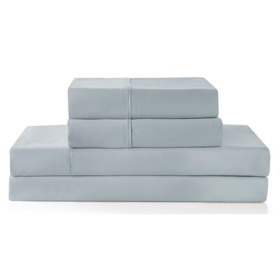 Columbard 300 Thread Count 100% Cotton Sheet Set Color: Gray, Size: King