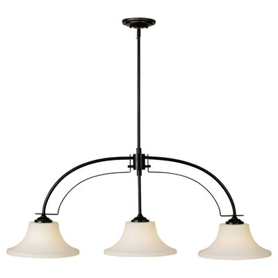 Pompton 3-Light Kitchen Island Pendant Finish: Oil Rubbed Bronze