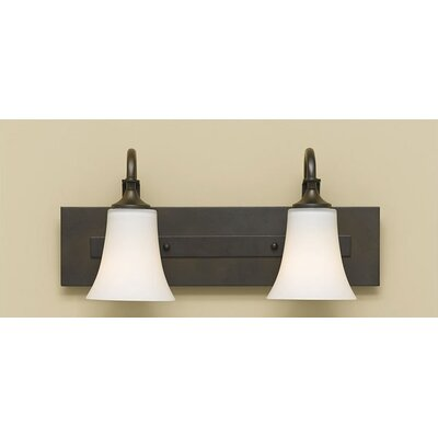 Pompton 2-Light Vanity Light Finish: Oil Rubbed Bronze