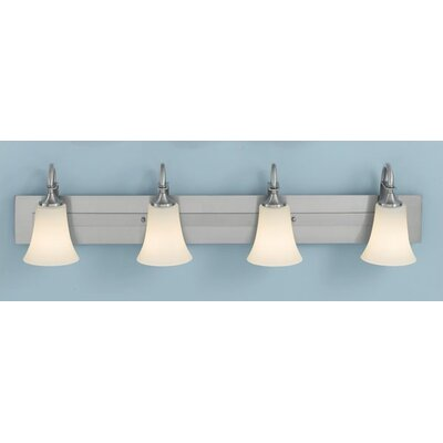 Pompton 4-Light Vanity Light Finish: Oil Rubbed Bronze