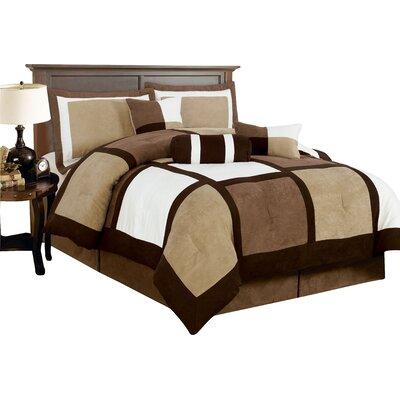 Alcott Hill Randall Patchwork 7 Piece Comforter Set