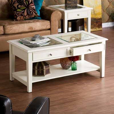 Amberly Coffee Table Finish: Ivory