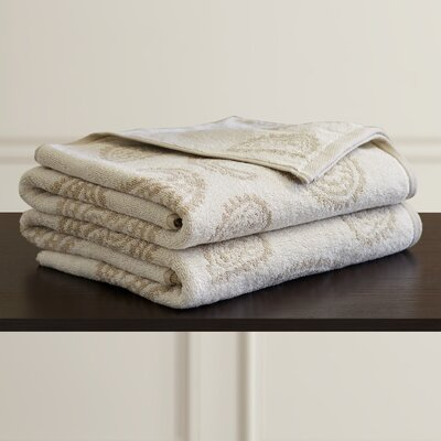 Luxurious 2 Piece Bath Towel Set Color: Tan
