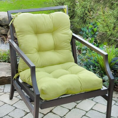 Outdoor Lounge Chair Cushion Fabric: Kiwi