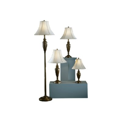 Lincolnshire 4 Piece Table and Floor Lamp Set
