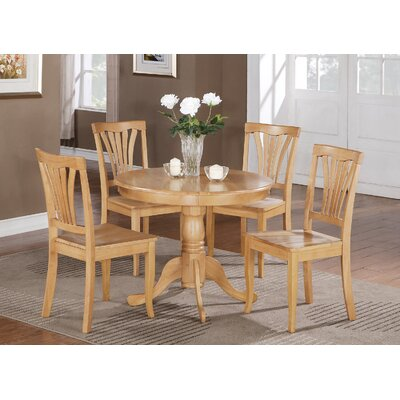 Ranshaw 5 Piece Dining Set Finish: Oak