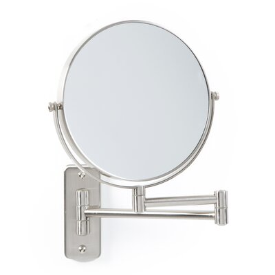 Two-Sided Dual-Arm Wall Mount Mirror