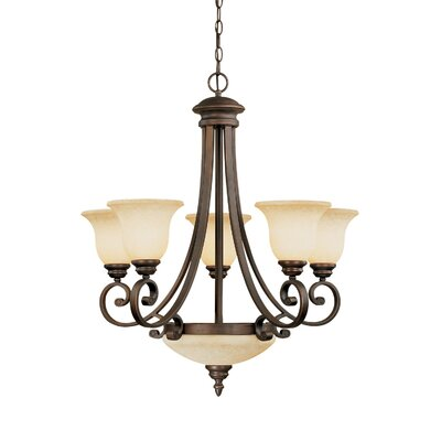 Hambleden 7-Light Semi Flush Mount