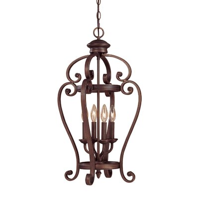 Hambleden 4-Light Pendant