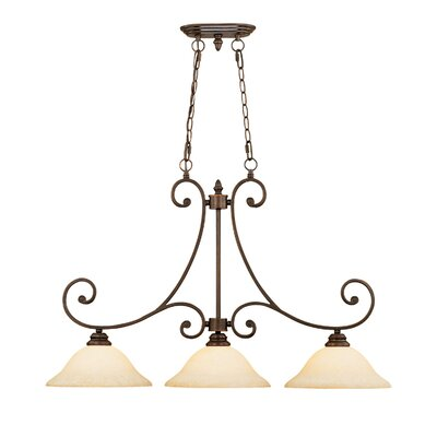 Hambleden 3-Light Kitchen Pendant Lighting