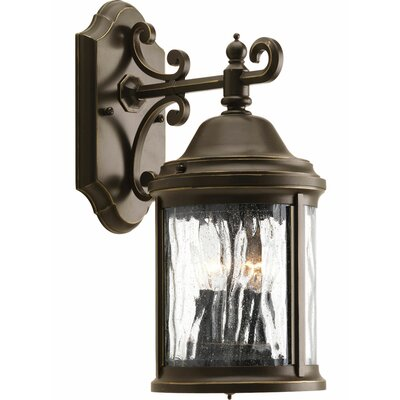 Drumakeely 2-Light Outdoor Wall Lantern Finish: Bronze