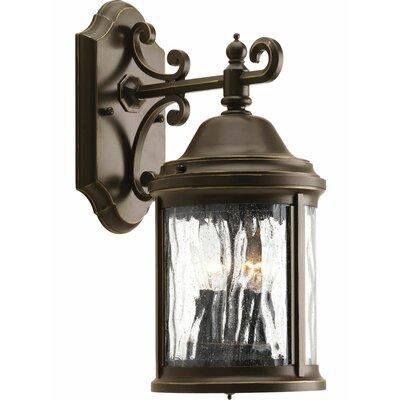 Drumakeely 2-Light Outdoor Wall Lantern Finish: Bronze