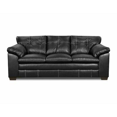 Simmons Upholstery Merriwood Sofa Upholstery: Onyx