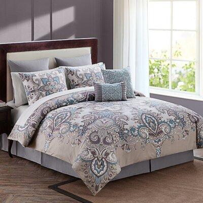 Cahill 12 Piece Comforter Set Size: Queen