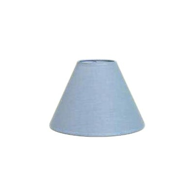 Hardback 8 Linen Empire Lamp Shade Color: Denim Blue