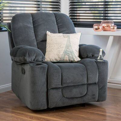 Eastlake Manual Glider Recliner Upholstery: Steel
