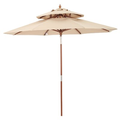 9 Market Umbrella Color: Khaki