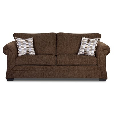 Simmons Upholstery Balcones Sofa Upholstery: Brown