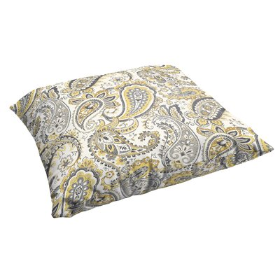 Frosses Paisley Corded Indoor/Outdoor Floor Pillow