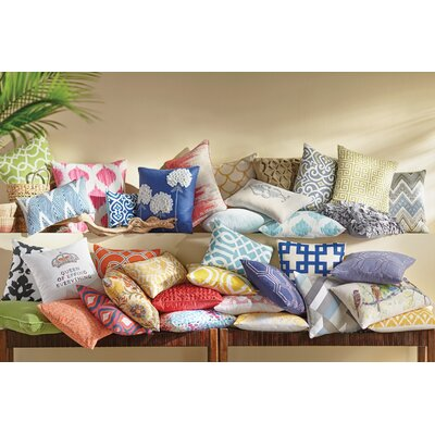 Rockhill 100% Cotton Throw Pillow Size: 18 H x 18 W