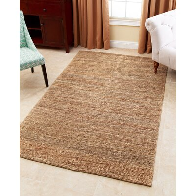 Calloway Hand-Woven Natural Area Rug Rug Size: 5 x 8
