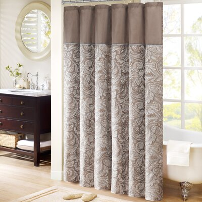 Pokanoket Shower Curtain Color: Natural