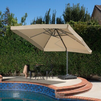 10 Mendon Square Cantilever Umbrella Color: Taupe
