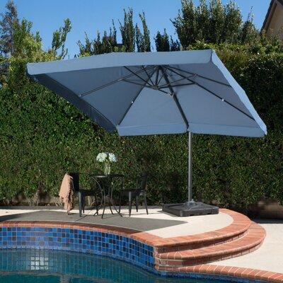 10 Mendon Square Cantilever Umbrella Color: Blue Lavender