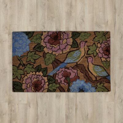 Savannah Heights Two Birds Floral Doormat