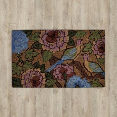 Savannah Heights Two Birds Floral Doormat