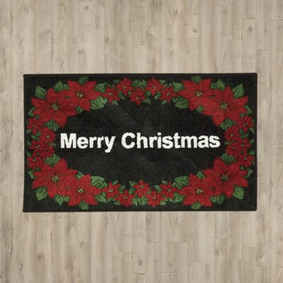 Currahee Merry Christmas Doormat